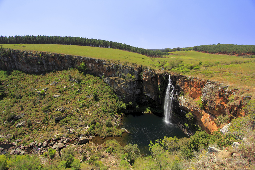 Berlin Falls en Afrique du Sud