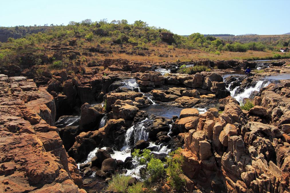 Bourke's Luck Potholes en Afrique du Sud