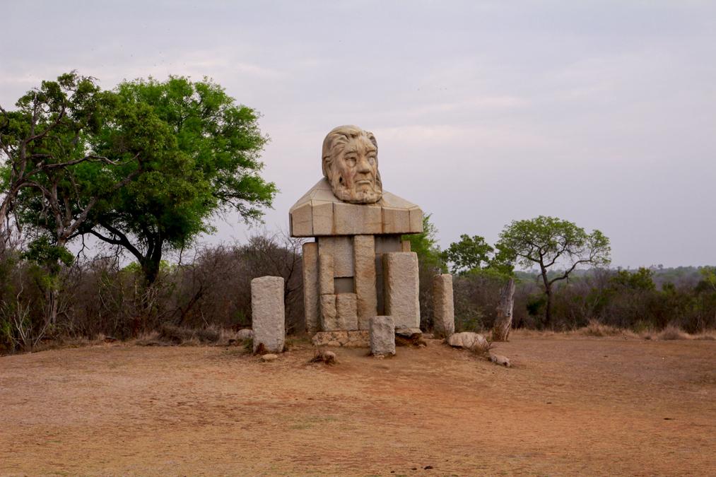 Statue du Kruger National Park en Afrique du Sud