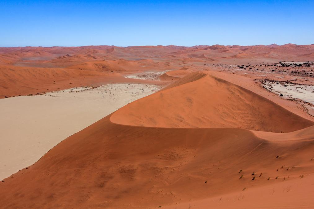 Big Daddy Dune à Sossusvlei en Namibie