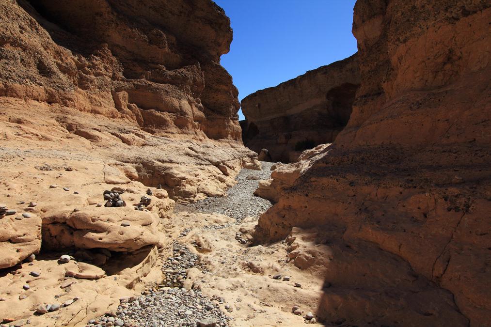 Sesriem Canyon en Namibie