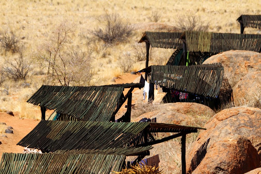 Campement au Namib Desert en Namibie