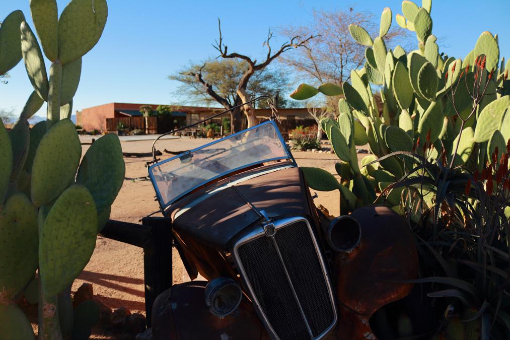 Village de Solitaire en Namibie