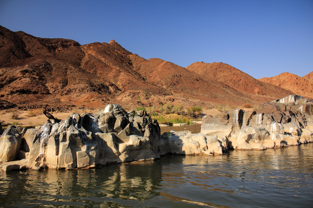 Orange river en Namibie