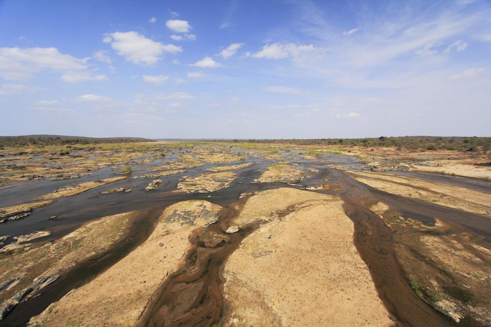 Olifants river en Afrique du Sud