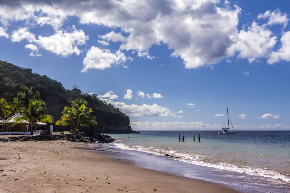 Anse du Carbet en Martinique
