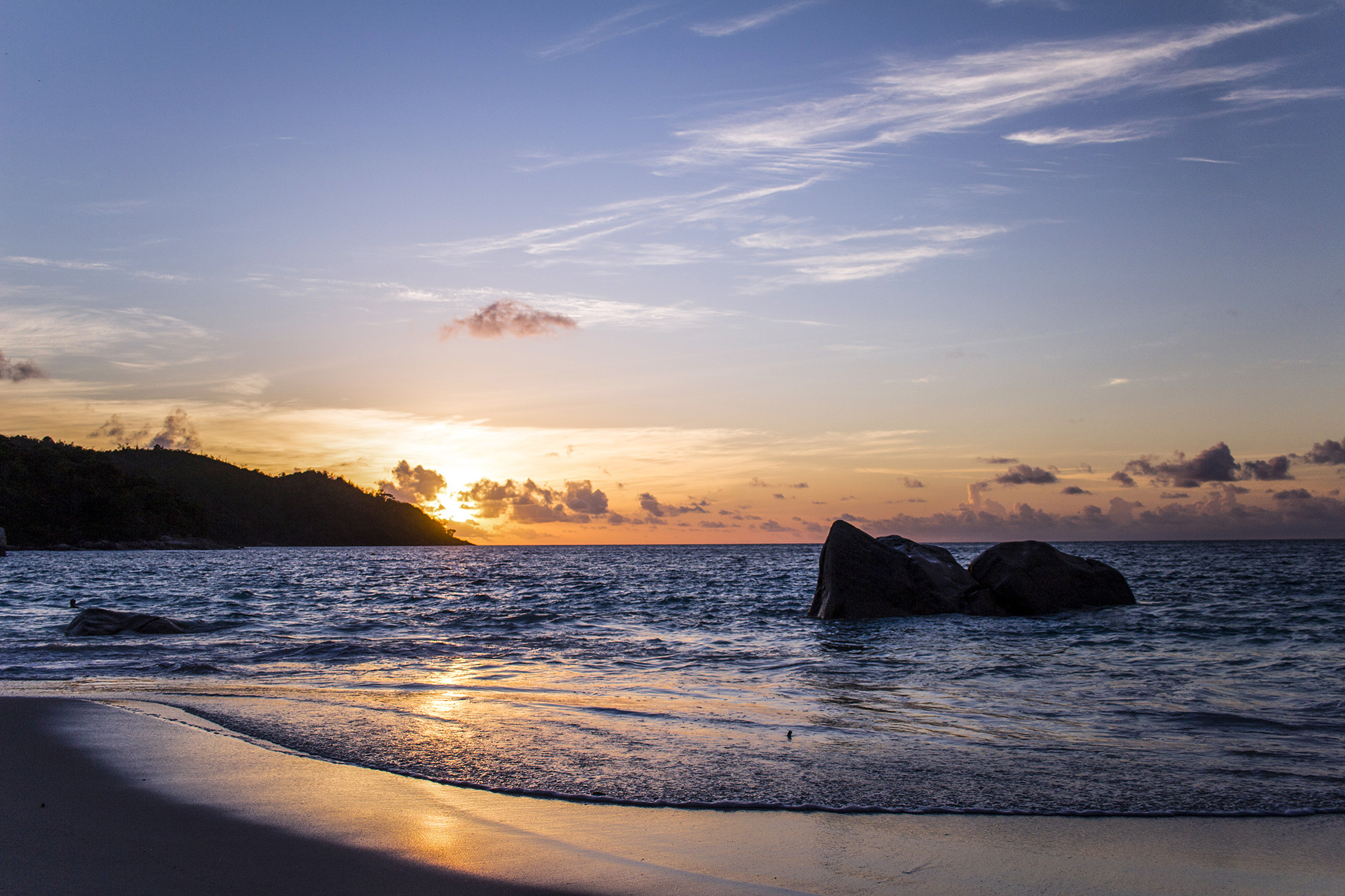 Anse Lazio (Praslin) aux Seychelles par Guillaume Projetti