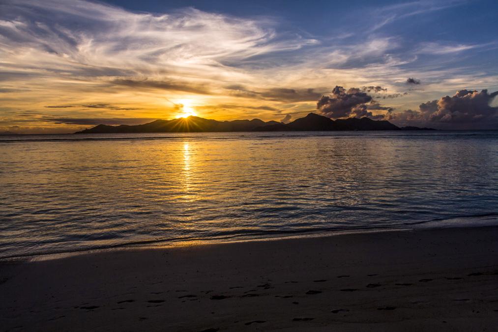 Anse La Réunion (La Digue) aux Seychelles