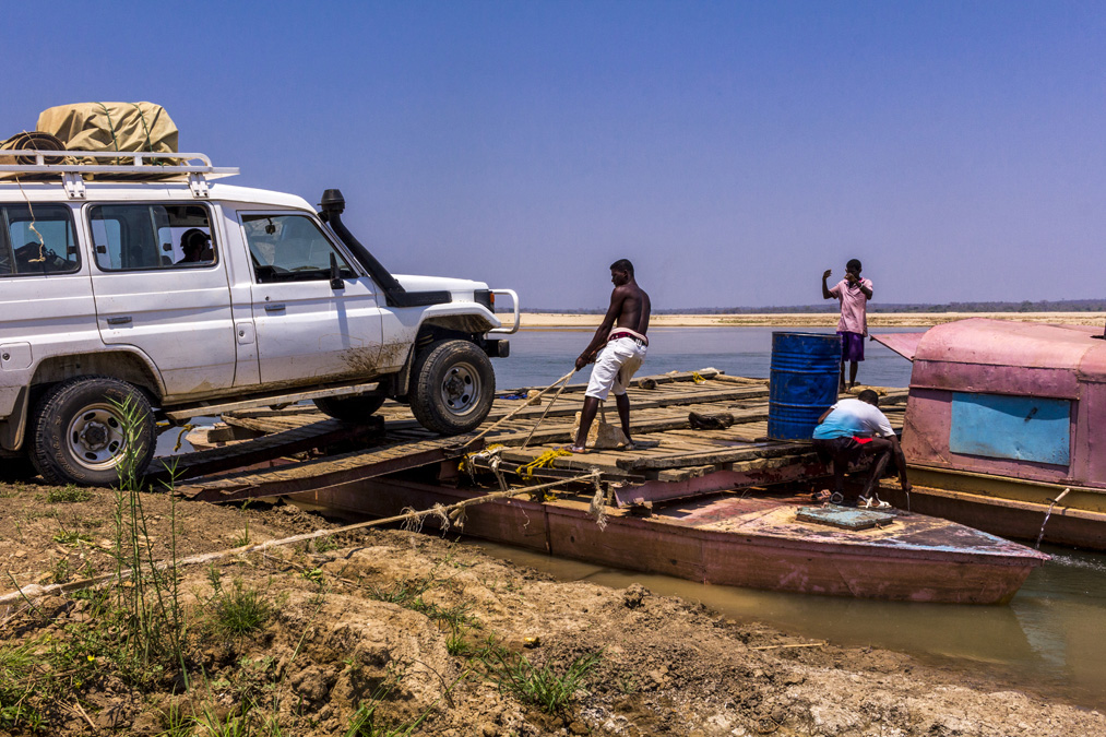 Bac de Bevoay à Madagascar