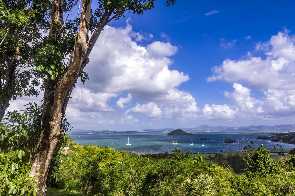Baie des Trois Îlets en Martinique