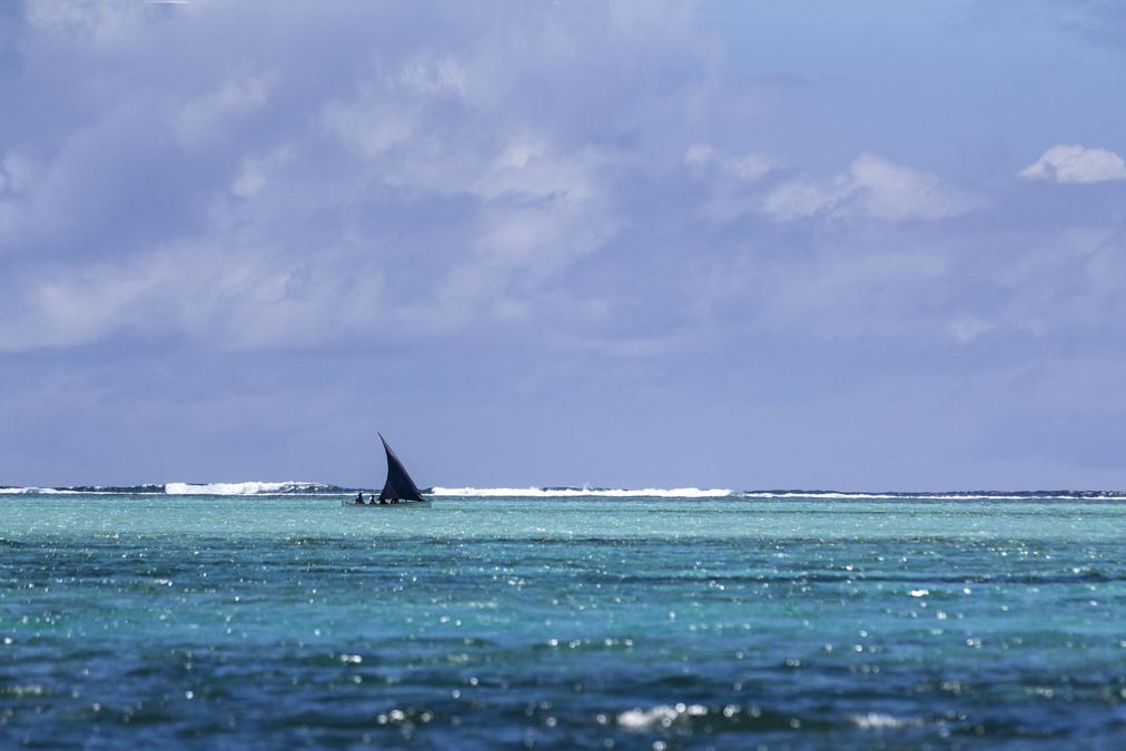 Barque rodriguaise à Rodrigues