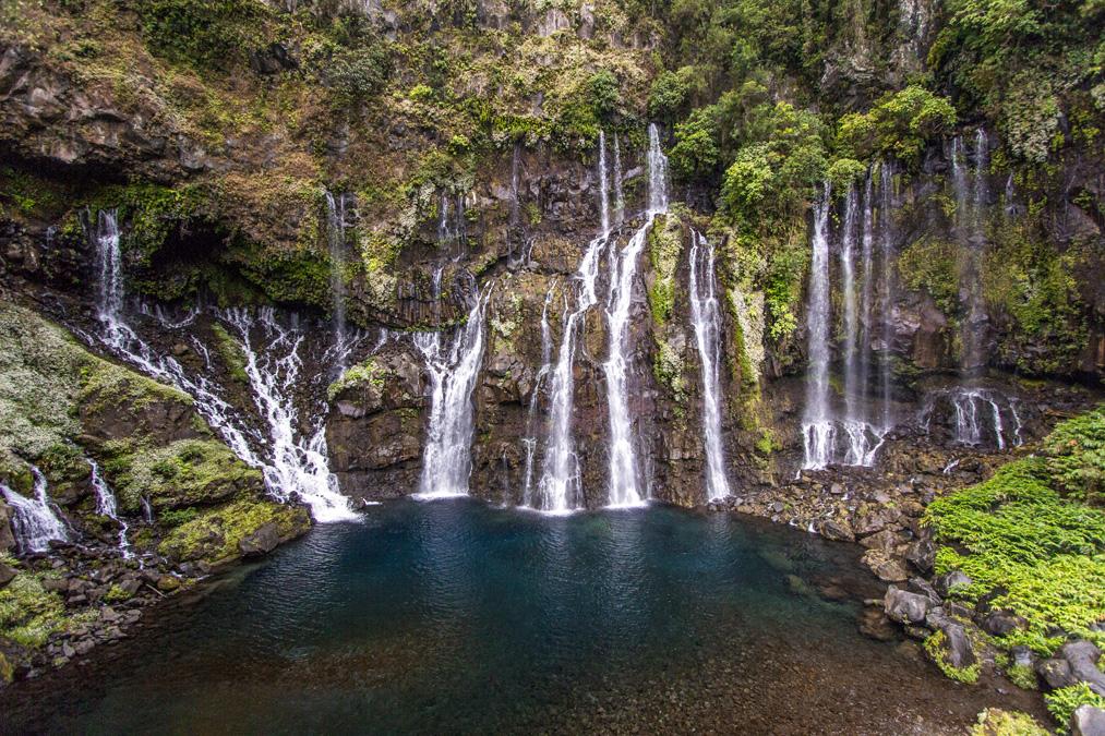 Cascade de Grand Galet à la Réunion
