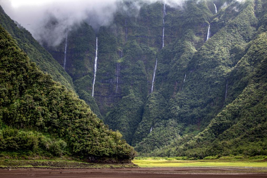 Cascades du Bras d'Annette à la Réunion