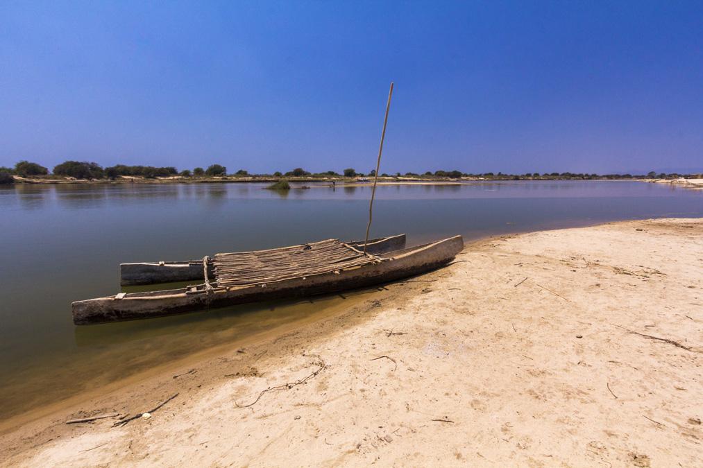 Catamaran malgache à Madagascar