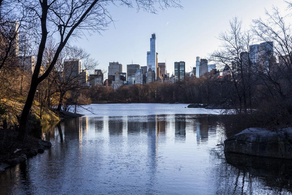 The Lake de Central Park à New York