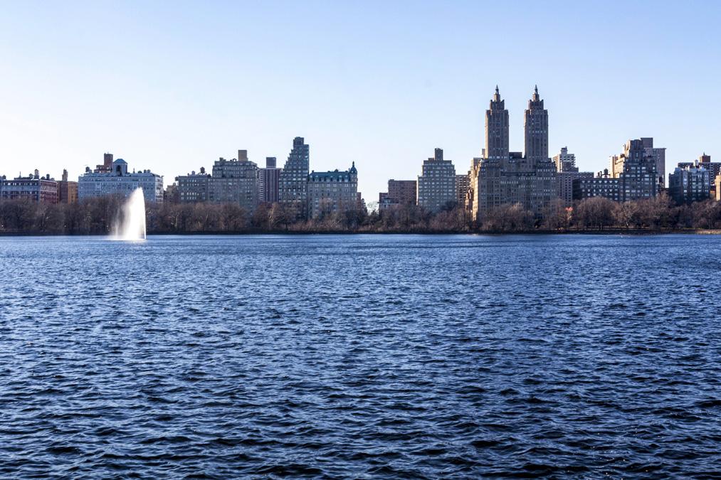 Jacqueline Kennedy Onassis Reservoir de Central Park à New York