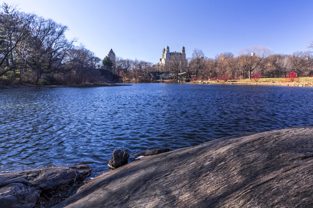 Turtle Pond de Central Park à New York