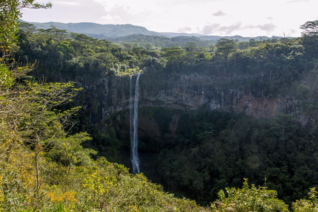 Chamarel Waterfall à Maurice