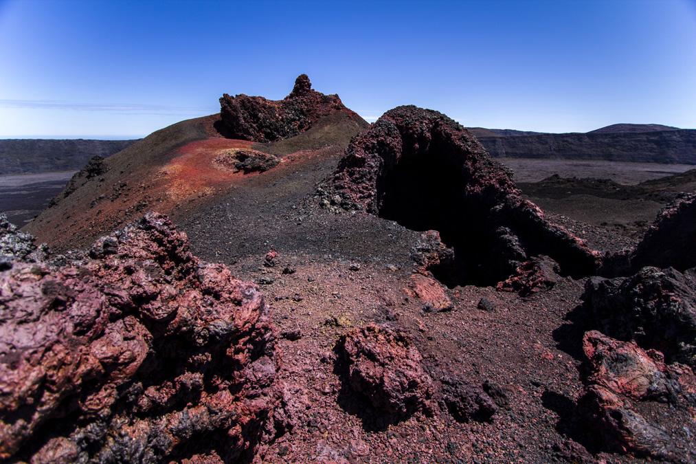 Cratère Caubet à la Réunion