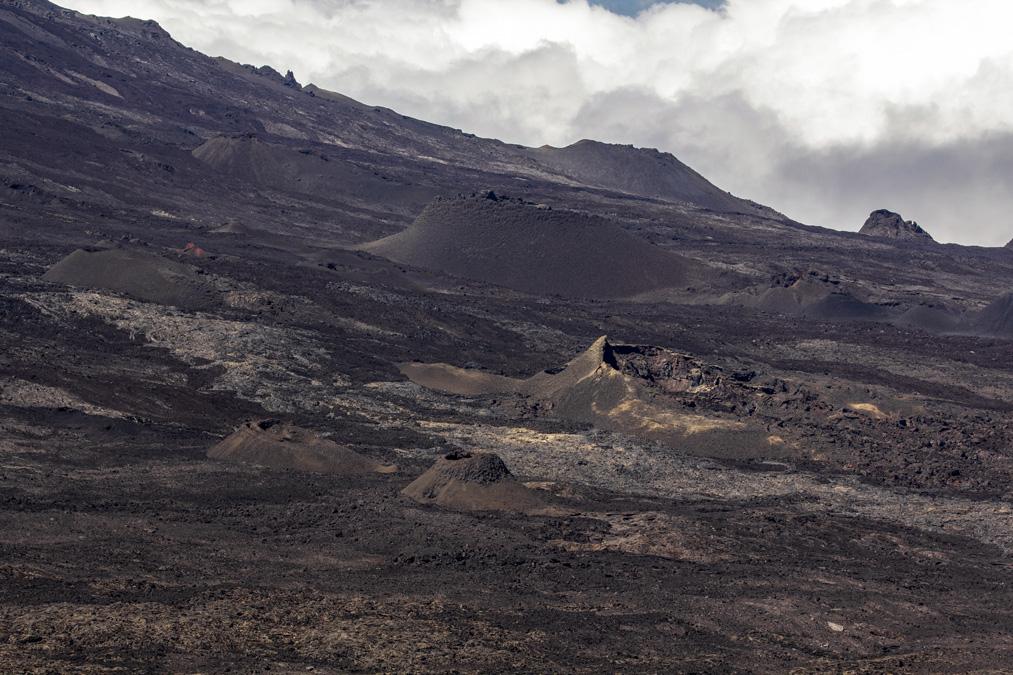 Cratères de l'enclos Fouqué à la Réunion