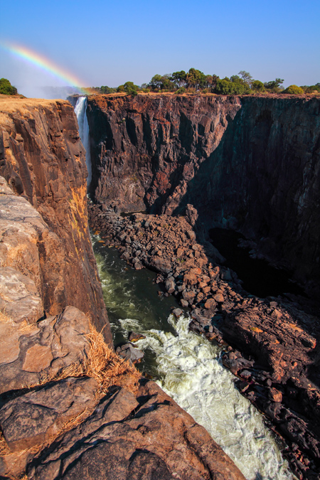 Danger Point des Victoria Falls au Zimbabwe