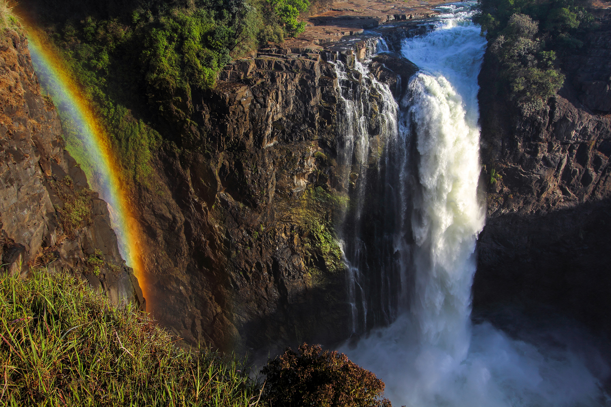 Victoria Falls au Zimbabwe par Guillaume Projetti