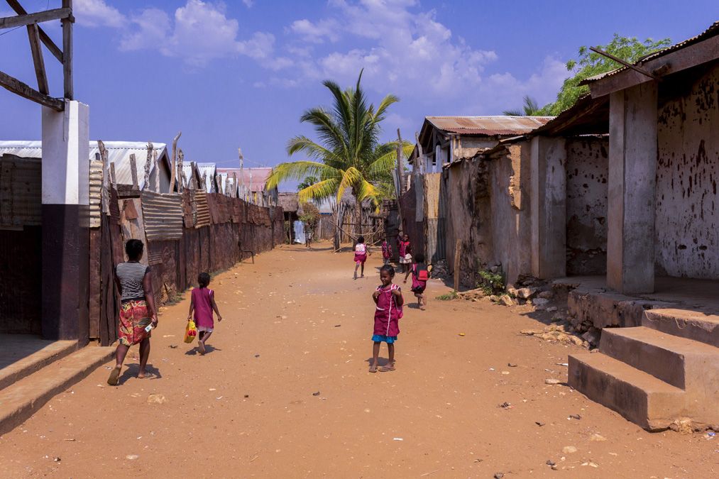 Village de Morombe à Madagascar