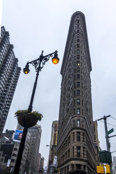 Flatiron Building à New York