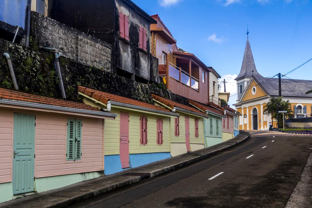 Grand'Rivière en Martinique