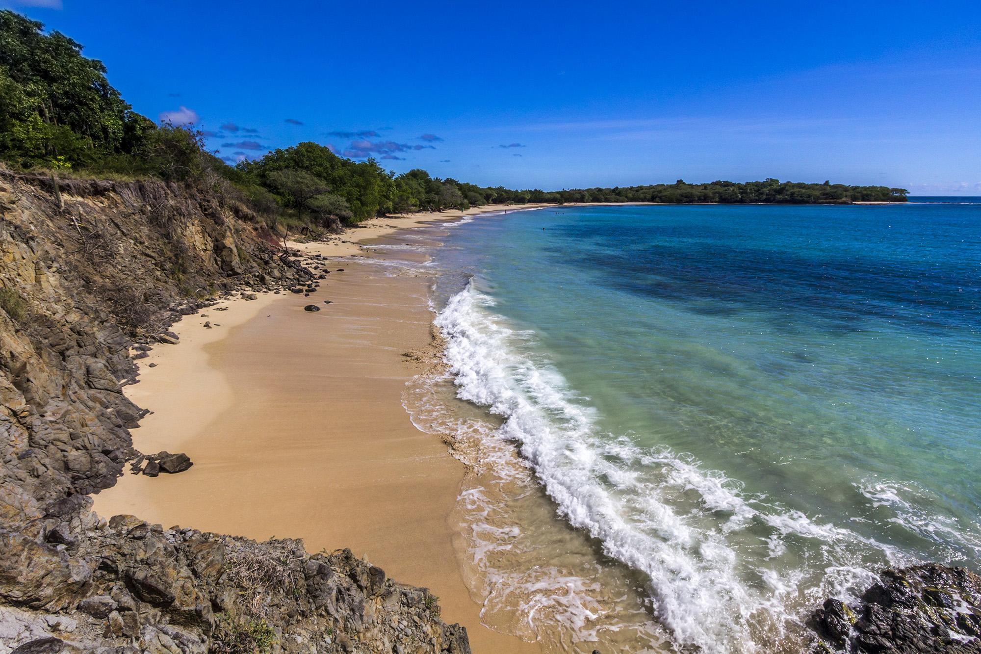 Grande Anse des Salines en Martinique