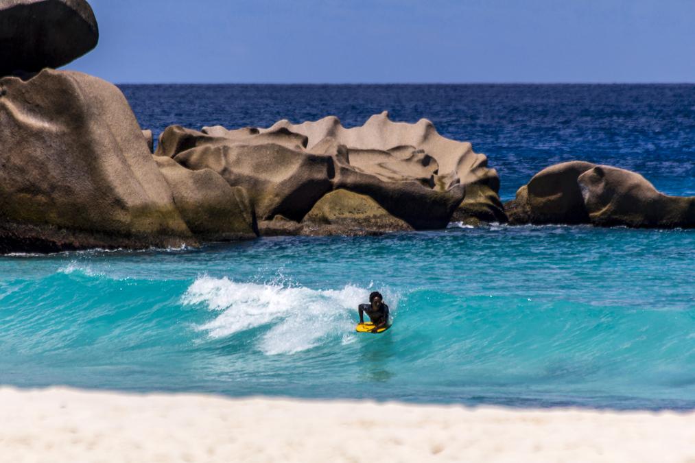 Grand Anse (La Digue) aux Seychelles