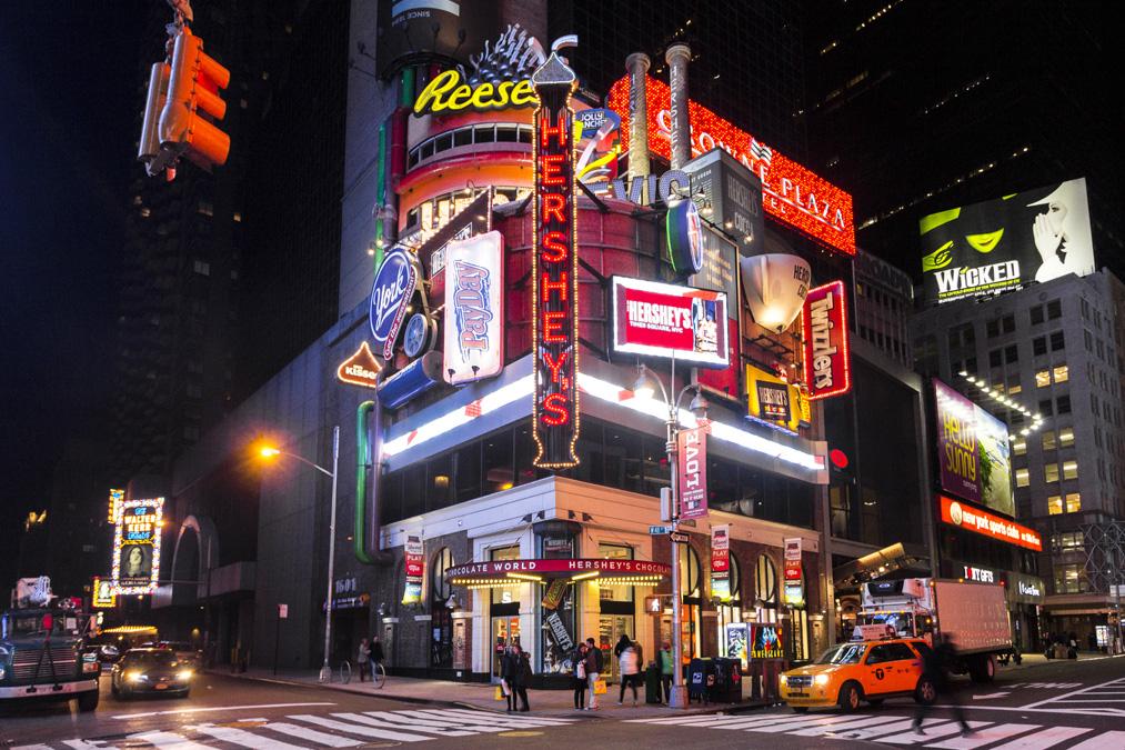 Hershey's Chocolate World Building à New York