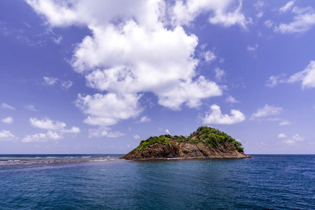 Îlet Petit Piton en Martinique
