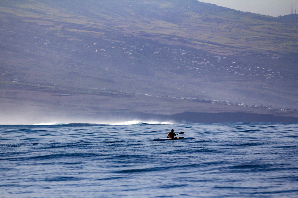 Kayak sur la côte ouest de la Réunion