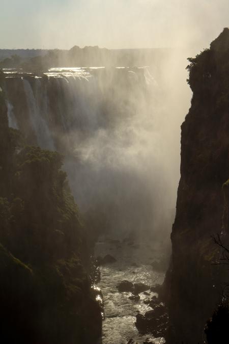 Main Falls des Victoria Falls au Zimbabwe