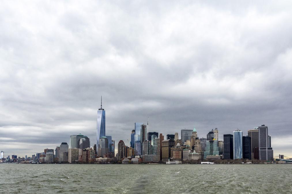 Manhattan Skyline à New York