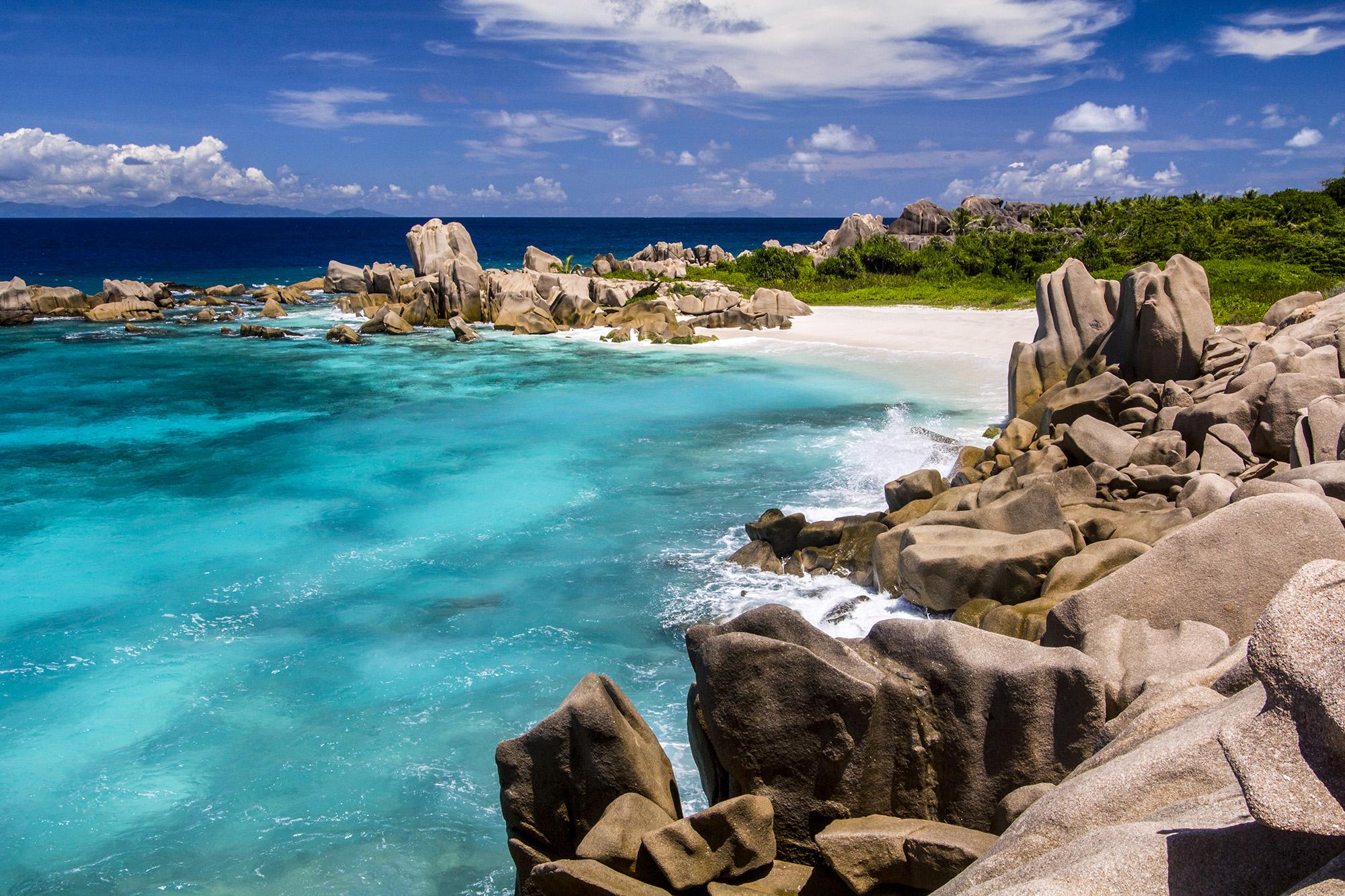 Anse Marron (La Digue) aux Seychelles par Guillaume Projetti