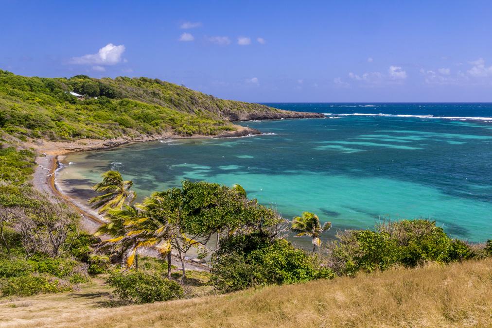 Pointe du Vauclin en Martinique