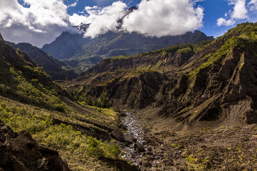 Morne de Fourche à la Réunion