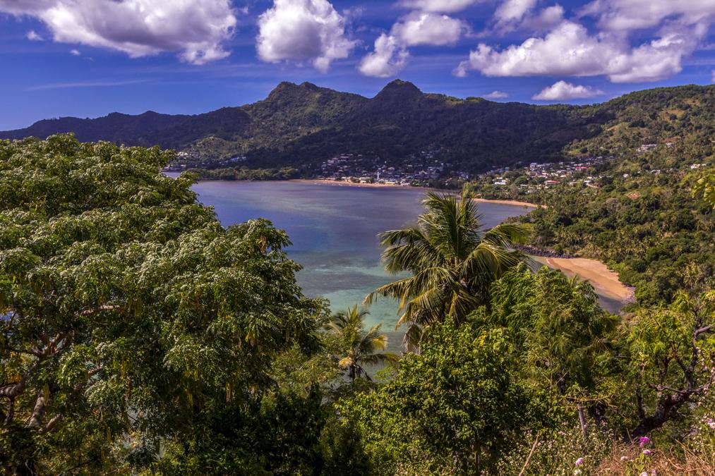 Baie de Mtsamboro à Mayotte