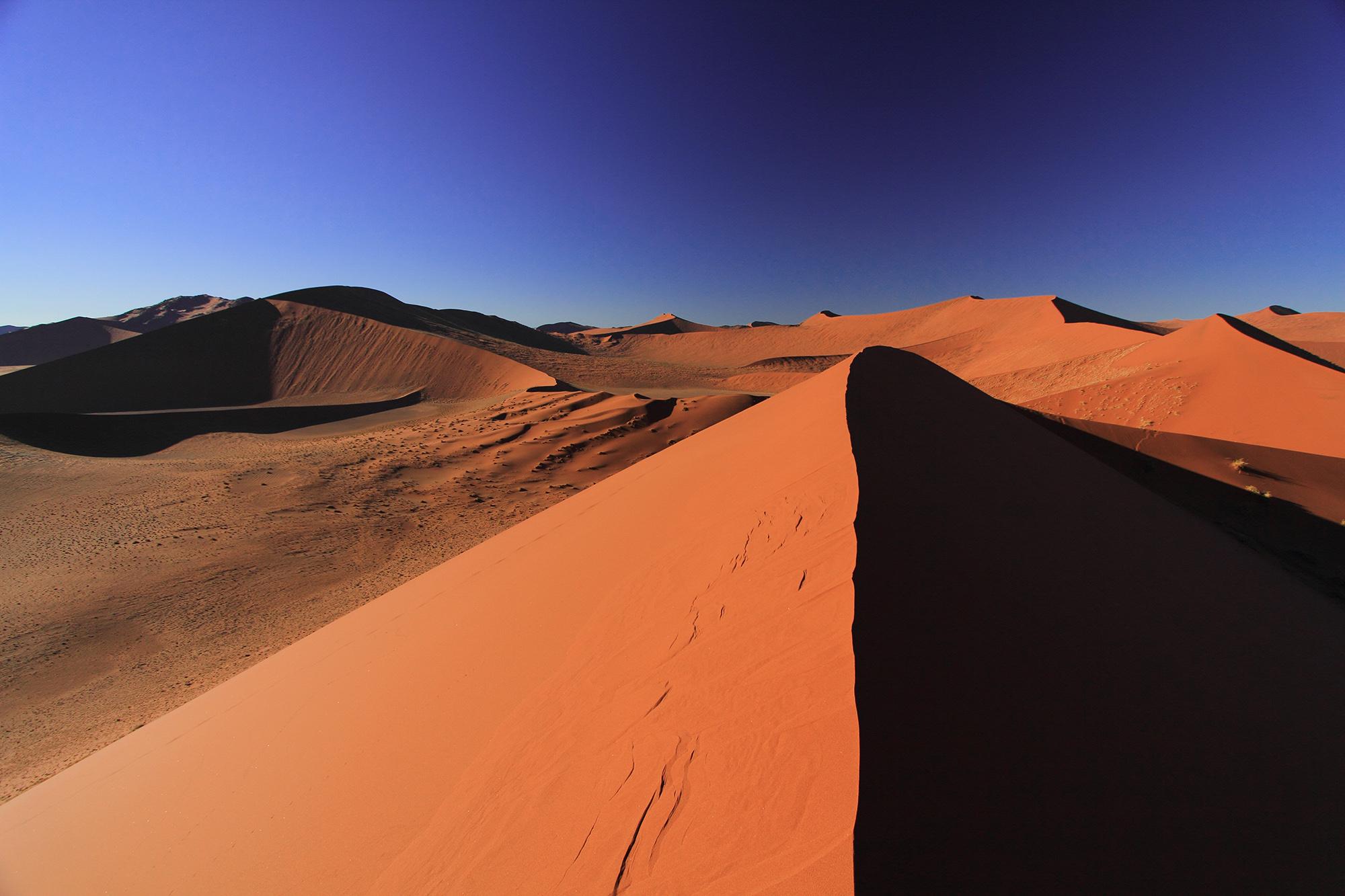 Dunes de Sossusvlei en Namibie par Guillaume Projetti