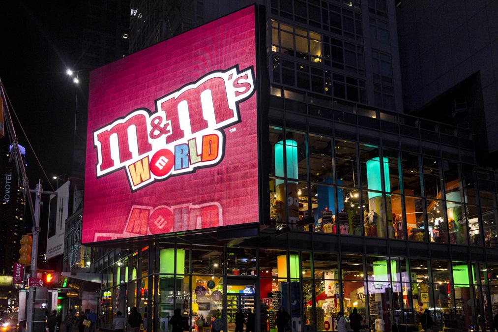 M&M'S World (Times Square) à New York