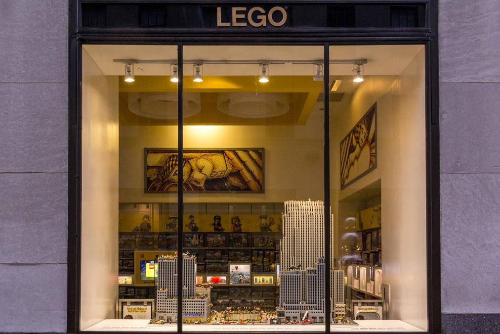 Lego Store (Rockefeller) à New York
