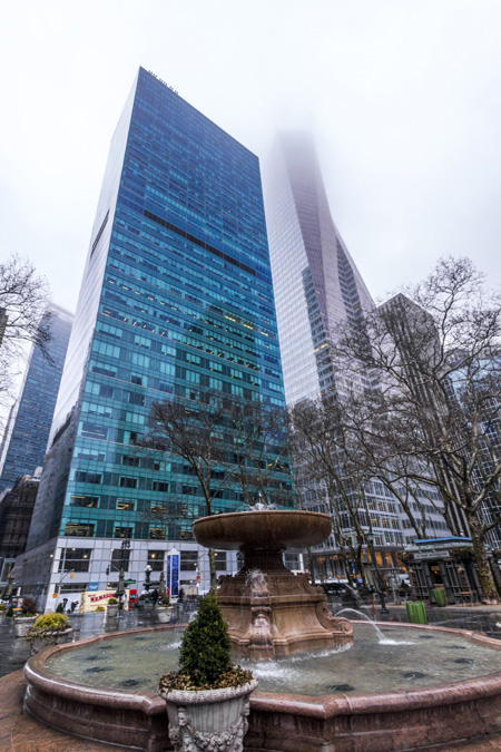 Bryant Park à New York