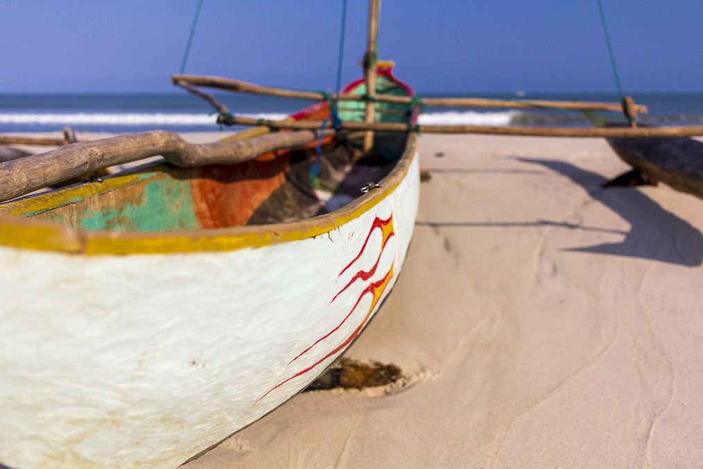 Pirogue à balancier à Madagascar