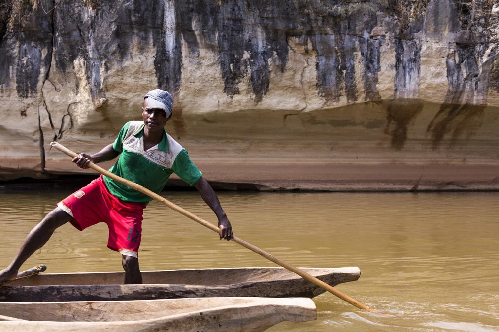 Gorges de Manambolo à Madagascar