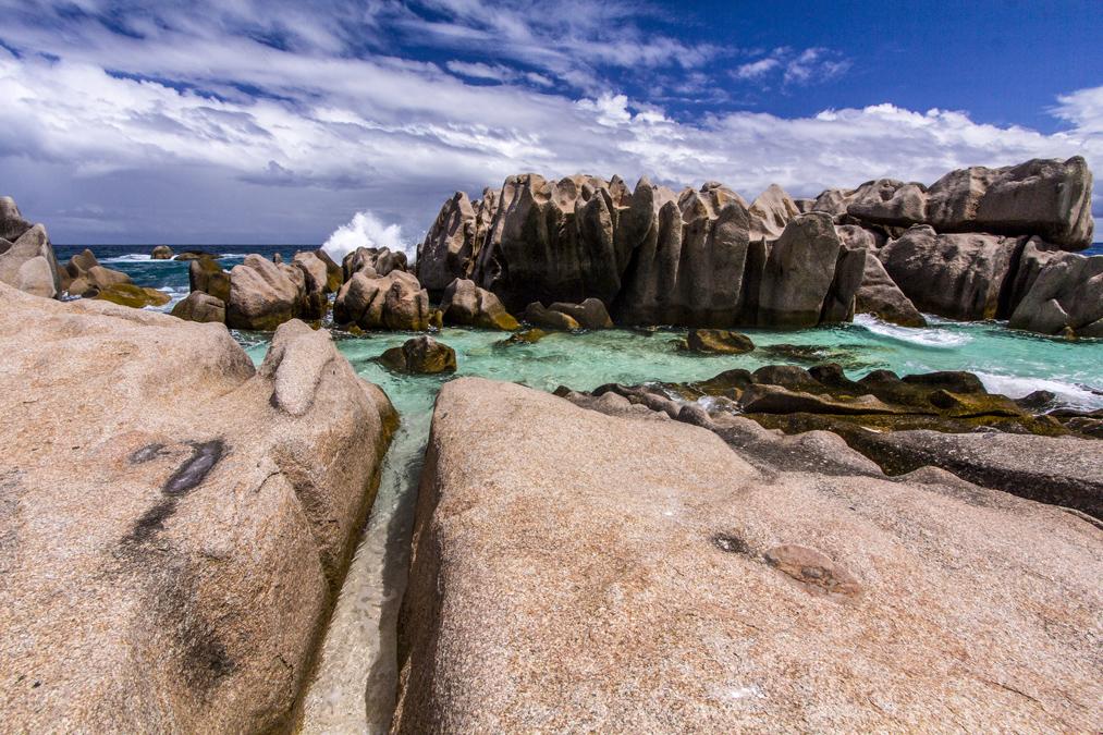 Anse Bonnet Carré (La Digue) aux Seychelles