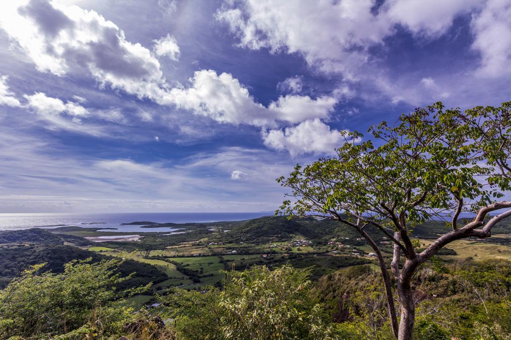 Panorama depuis le Piton Crève-Cœur en Martinique