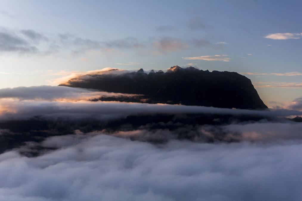 Piton des Neiges à la Réunion