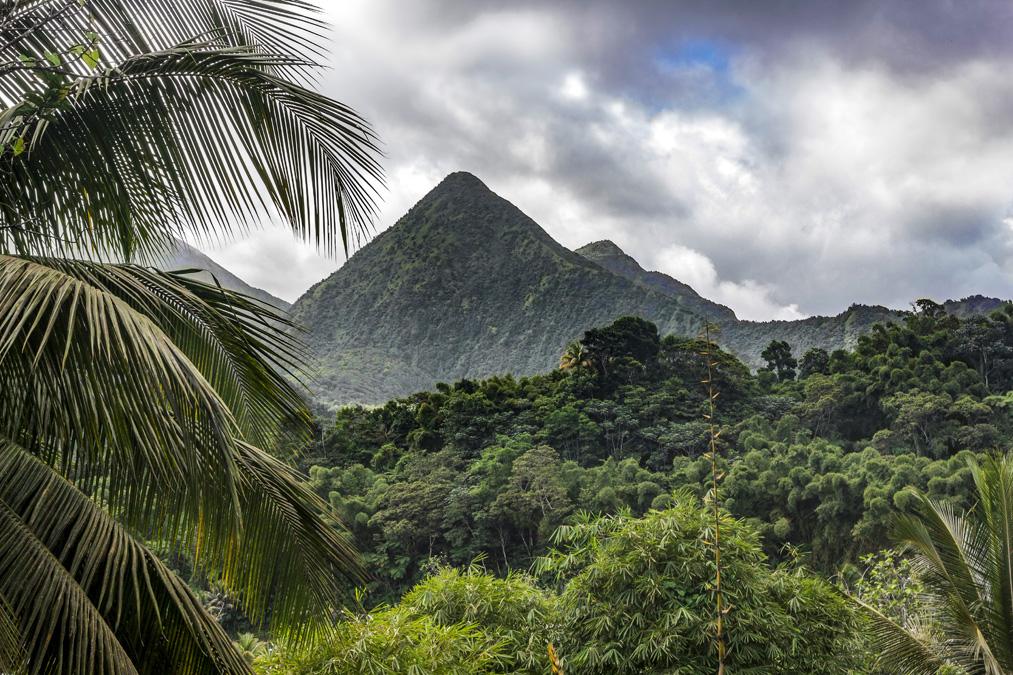 Pitons du Carbet en Martinique